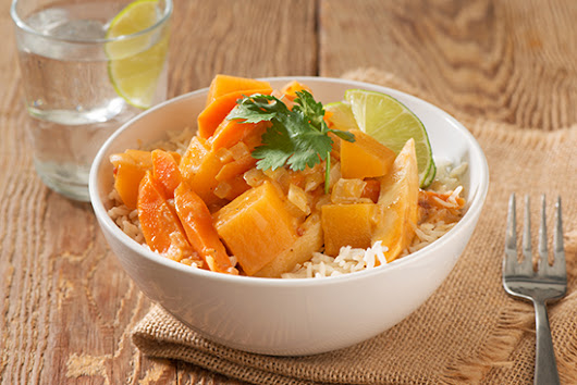Root Vegetable Coconut Curry - Half Your Plate