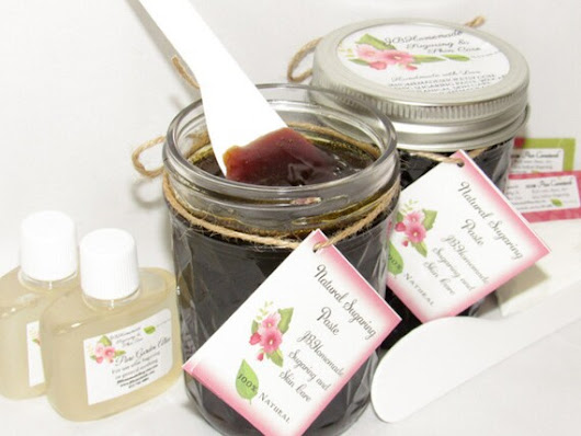 Sugaring Paste Natural Hair Removal for Thicker by JBHomemadeShop