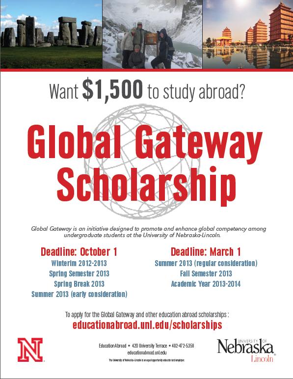 NUZ2UZ - Want to Study Abroad? Global Gateway Scholarships ...