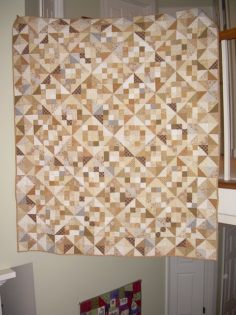 Neutral Quilt 1  we give credit to Alex Anderson