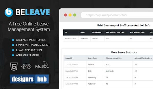 BeLeave: A Free Online Leave Management System