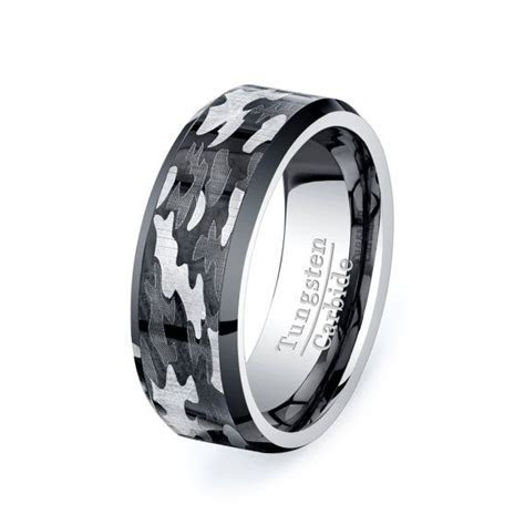 For him this is really pretty cool. Military Camo Ring