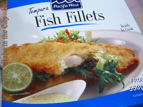 Pacific Tempura Fish Fillets Box