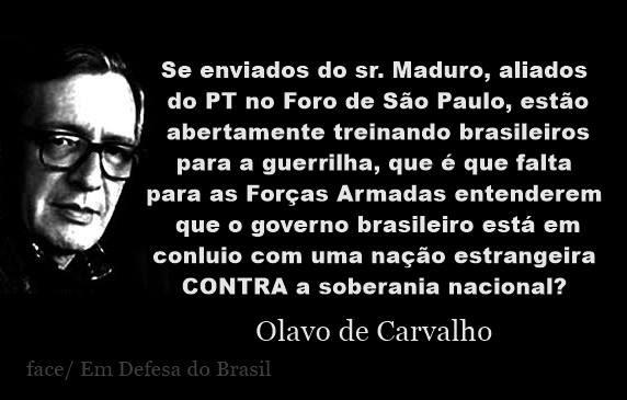Por Miltinho De Carvalho Uma Mensagem: Oséias 4-6: Foro De São Paulo, Por Olavo De Carvalho
