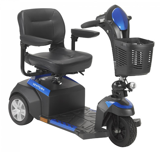 Ventura Power Mobility Scooter, 3 Wheel for sale in Dallas, TX | Aids For Recovery (214) 328-0677