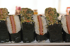 JustJenn's New Year Lunch - Spam Musubi