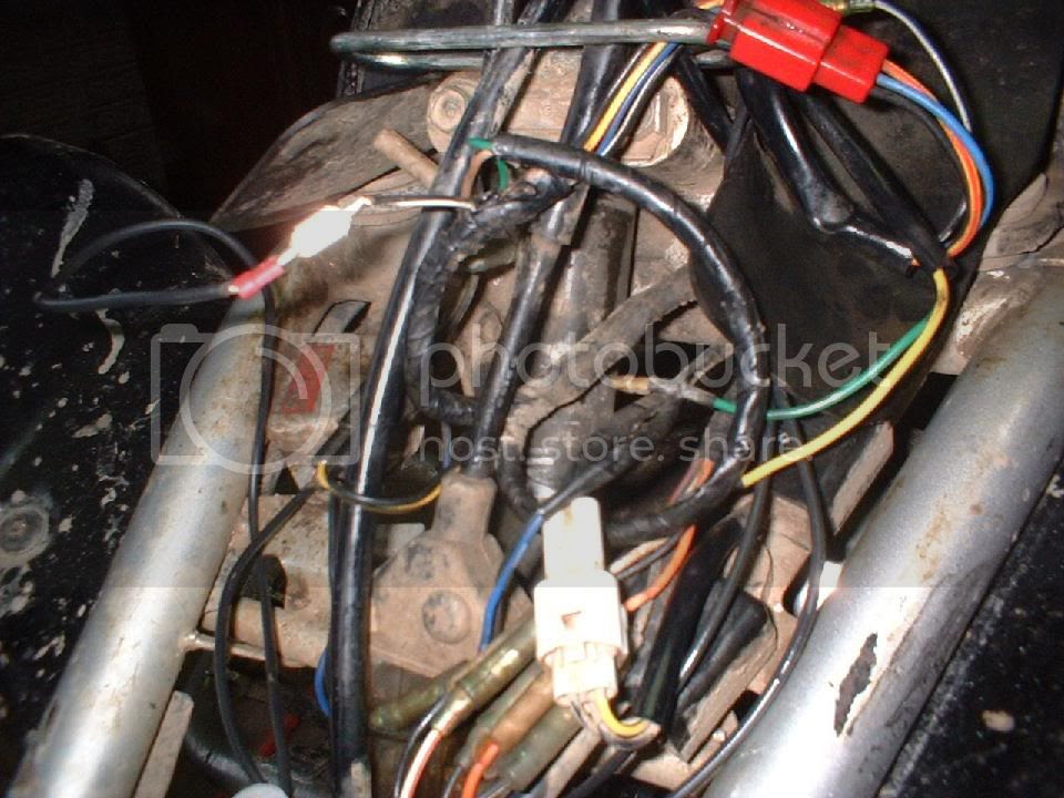Yamaha Blaster Wiring Harnes