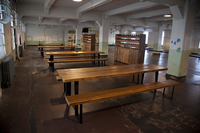 Ai Weiwei, Yours Truly, 2014 (installation view, Alcatraz Dining Hall)