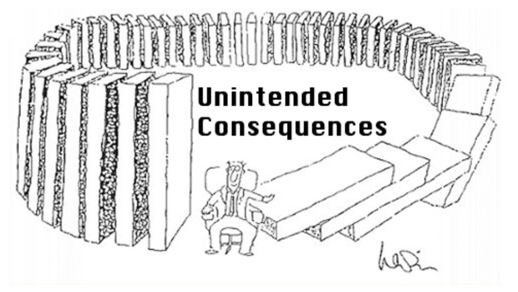 Image result for unintended consequences fee