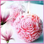 Imagen Vela bulbo magnolio 8x8 pack 6 unidades