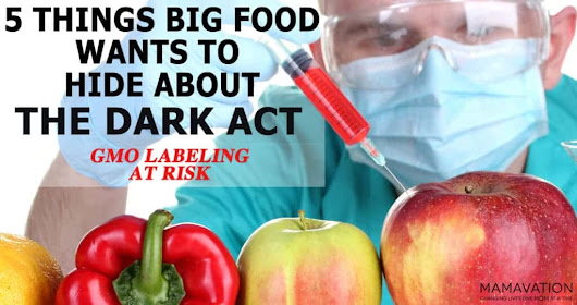 Top 5 Things Big Food Wants to Hide from You About the DARK Act - Mamavation