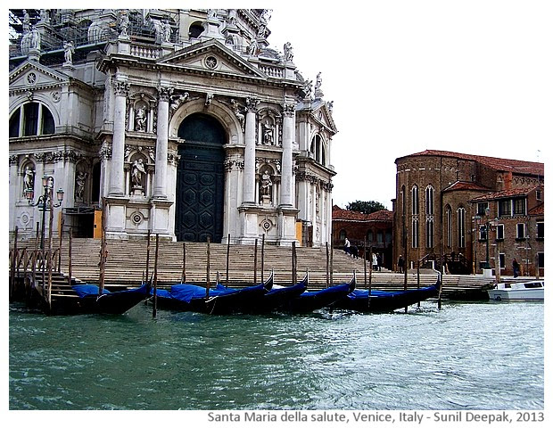 Venice walking tour, Santa Maria, Italy - images by Sunil Deepak