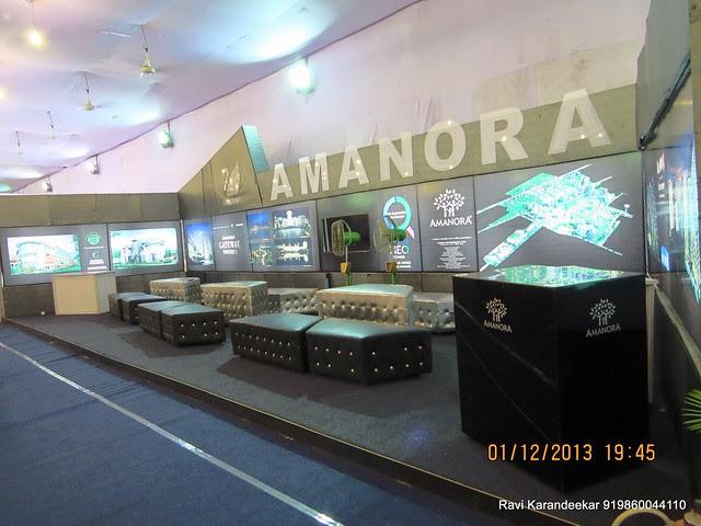 www.amanora.com Amanora Park Town - Maharashtra Times Property Show, 30th November & 1st December 2013, Sakhar Sankul, Na Ta Wadi, Shivaji Nagar, Pune