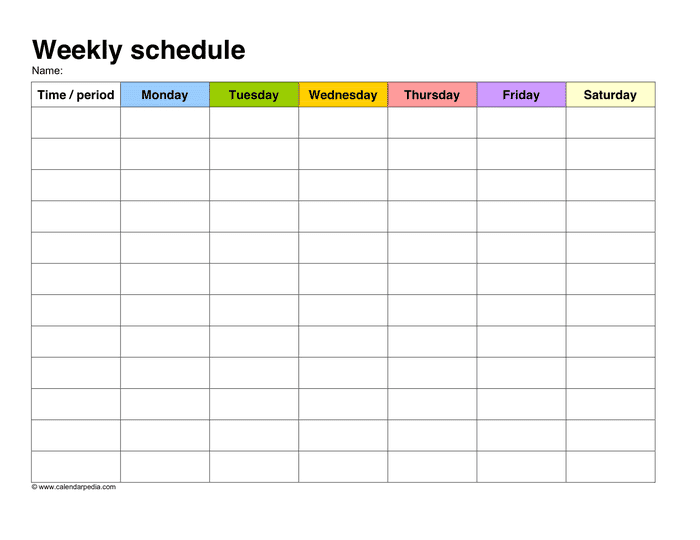 weekly schedule sample_1