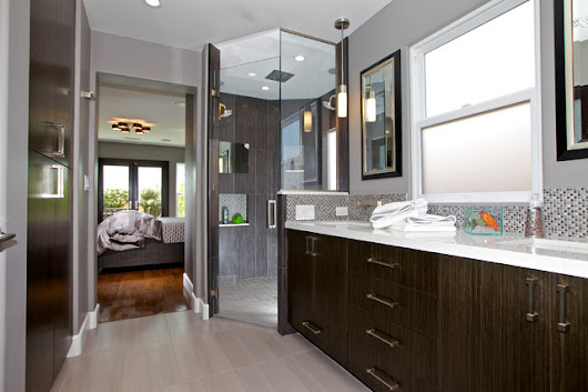 Old to New - Contemporary - Bathroom - san diego - by Marrokal Design & Remodeling