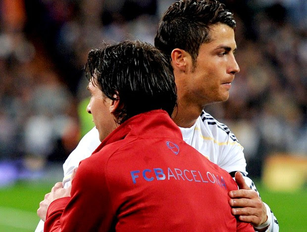 messi barcelona cristiano ronaldo real madrid (Foto: agência Getty Images)