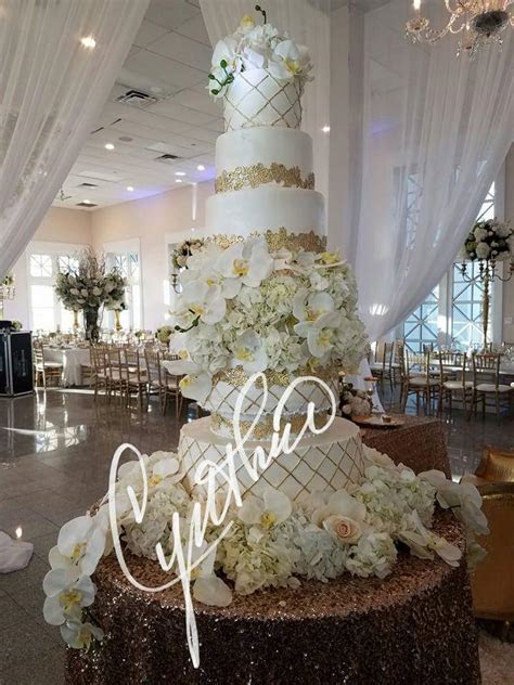 Luxurious WEDDING CAKE » Cynthias Cakes, LLC