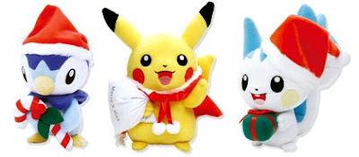 Pokemon Xmas Plush