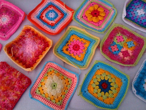 Squares travel across the miles from Latvia to the UK from Elizabeth Cat.
