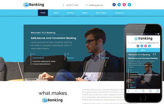 E-Banking a Banking Category Bootstrap Responsive Web Template - w3layouts.com