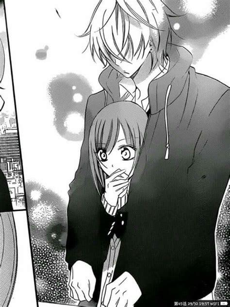 sempre vou te proteger arte delle anime bacio anime