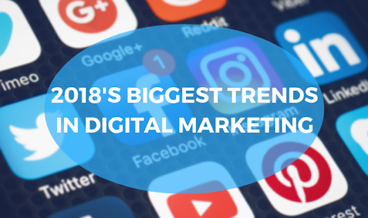 Top Digital Marketing Trends of 2018 | InteractOne