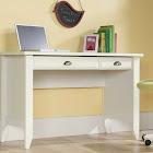 Sauder Shoal Creek Computer Desk, White