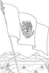 Pinto Dibujos Mexicano Para Colorear