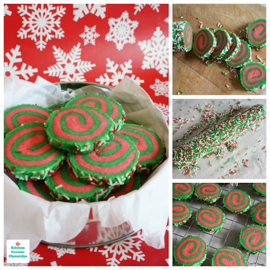 Fun and Festive Pinwheel Sugar Cookies for Christmas