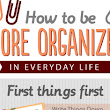 19 Ways to Be More Organized - BrandonGaille.com