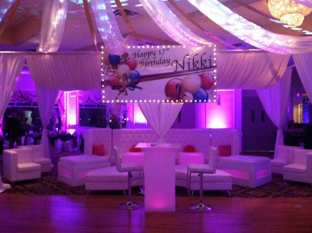 Small VIP Sections: Aviance Event Planning and Lounge Decor NJ