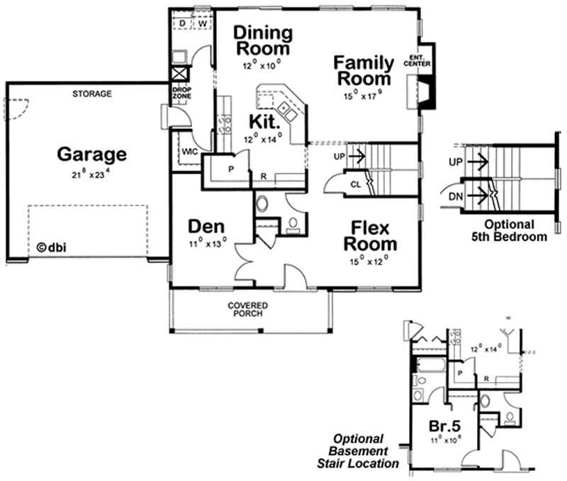 House Plan 120 2100 4 Bedroom 2549 Sq Ft Country
