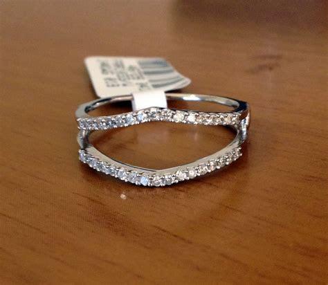 0.25 ct Solitaire Enhancer Diamonds Ring Guard Wrap 14k