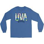 Official NCAA University of Virginia Cavaliers - VAFLRL, G.A.G2400, RYL, 3XL Size 3X-Large Royal Blue