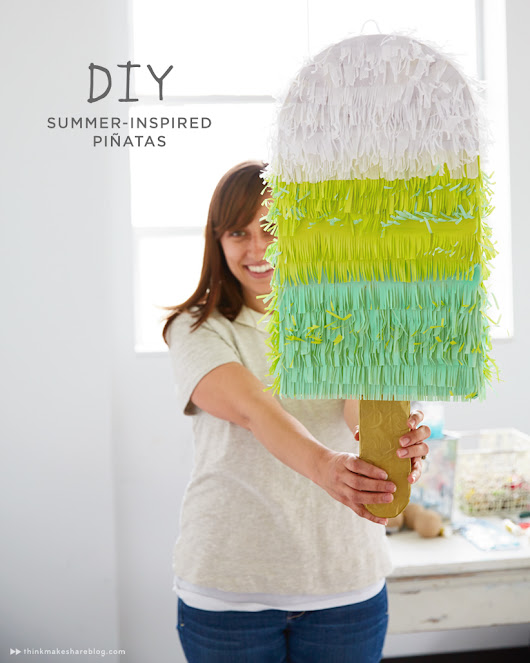 Make your own summer piñata - Think.Make.Share.