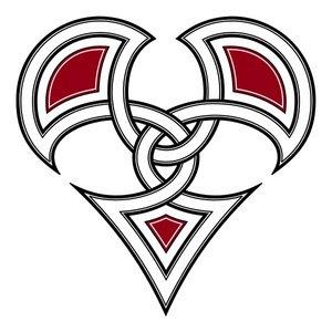 Awesome Celtic Heart Tattoo Design