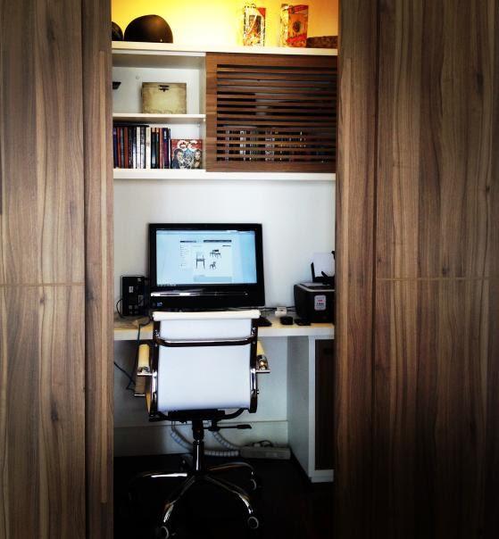 home office projeto adriana  (Foto: divulgação)