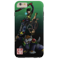 The World of Chiinferno: Swordmasters Tough iPhone 6 Plus Case