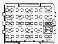 1991 Chevy 1500 Fuse Box Diagram