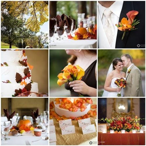 Fall Wedding Inspiration Board