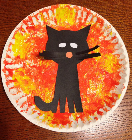 Toddler Cat Halloween Craft