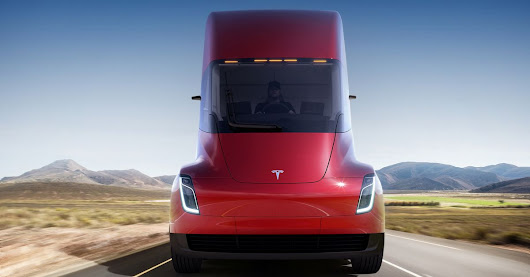 This is the Tesla semi truck