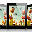 iPad Psd Vector Mockup Template | Psd Mock Up Templates | Pixeden