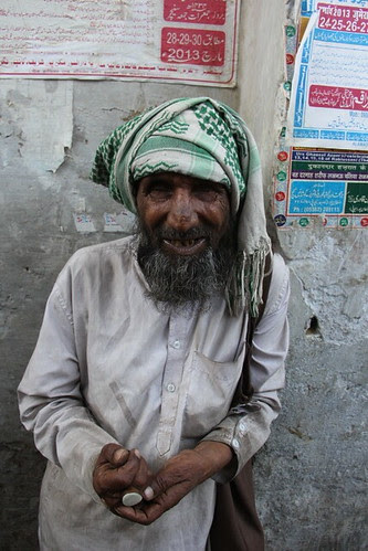 The Happiest Man Who Trusts In God - Muslim Beggar by firoze shakir photographerno1
