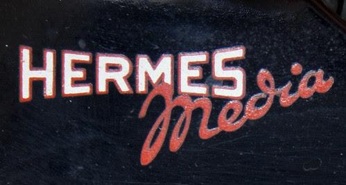Hermes Media logo 1946