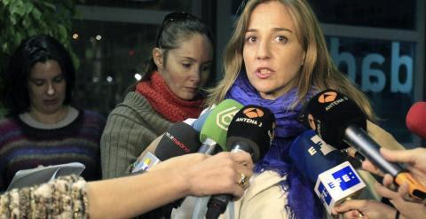 La diputada autonómica de IU Tania Sánchez, candidata de IU a la Comunidad de Madrid. /Víctor Lerena (EFE)