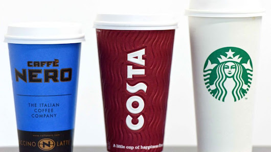 Viewpoint: The waste mountain of coffee cups - BBC News