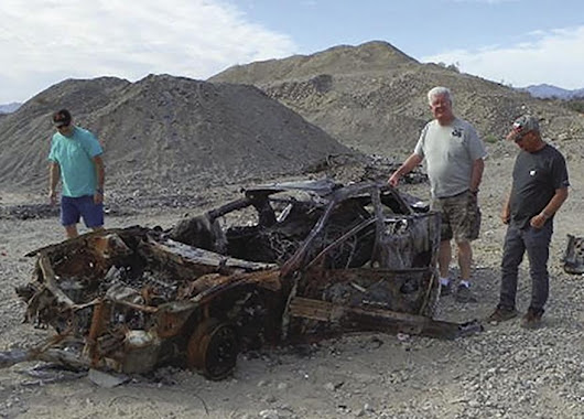 Havasu 4 Wheelers fights illegal desert dumping