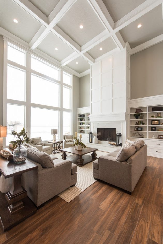 15 Incredible Transitional Living Room Interior Designs ...