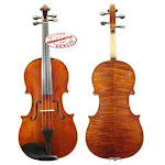D'Luca Orchestral Series Flamed Handmade Viola 15.5 Inches